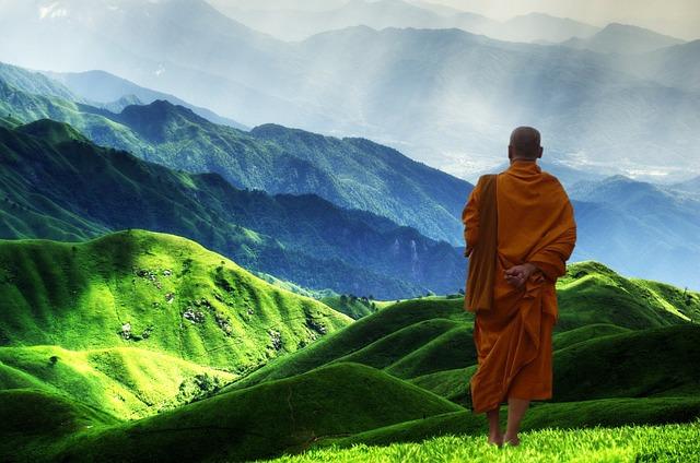 buddhiste-montagne